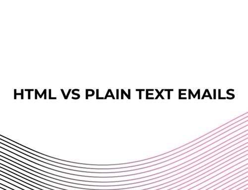 Html Vs Plain Text Emails